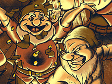 The Seven Deadly Dwarves T-Shirt Design by