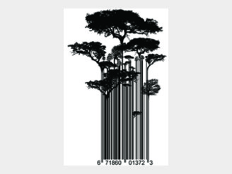 Street Art Barcode Trees by DangerMouth
