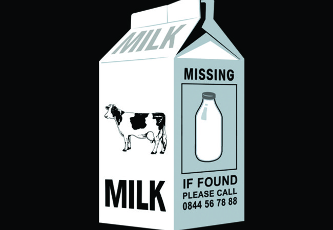 'Lost' Milk Bottle Vs Carton