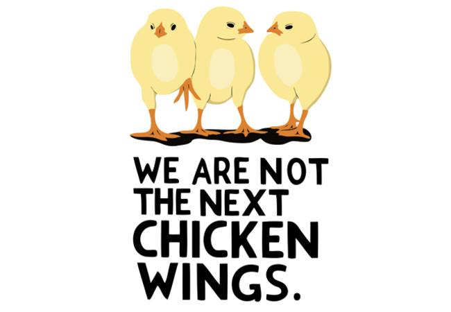We are not the next Chicken Wings