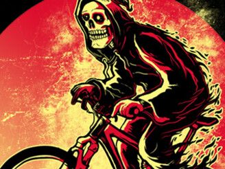 Hot Biking Grimreaper by xevriex