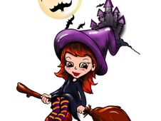 Witching you Happy Halloween T-Shirt Design by