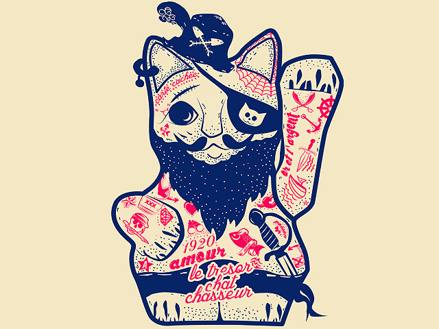 Lucky Cat Pirate