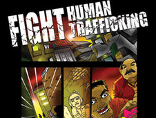 FIGHT Human Trafficking T-Shirt Design by