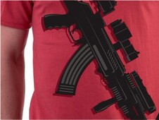 assault rifle T-Shirt Design by