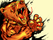 -=BEAR MADNESS=- T-Shirt Design by