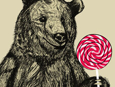 Candy Bear T-Shirt Design by