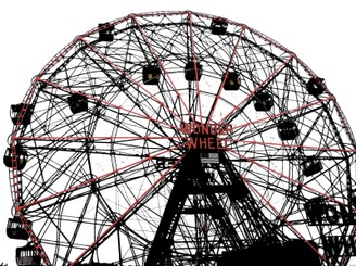 Wonder Wheel NYC by silentday