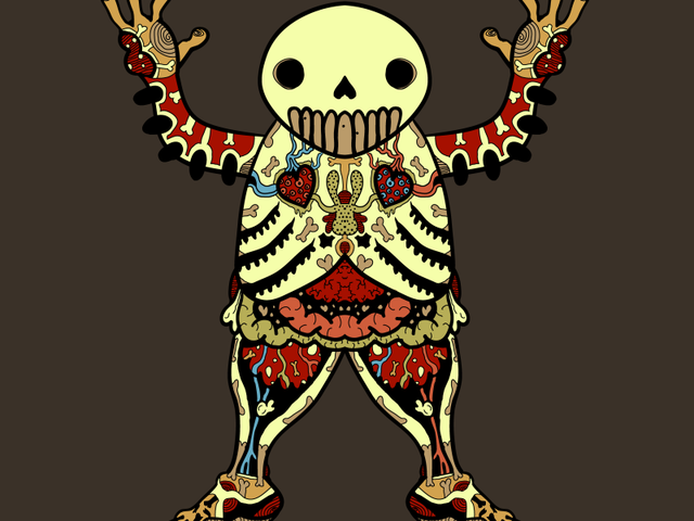 Ooga Booga Skeleton