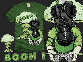 When Kids Go BOOM !!! by tshirtfactory