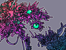 Mechanical Doodle T-Shirt Design by