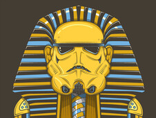 Troopankhamun T-Shirt Design by