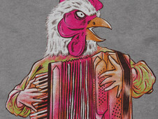 Accordion T-Shirt Design by