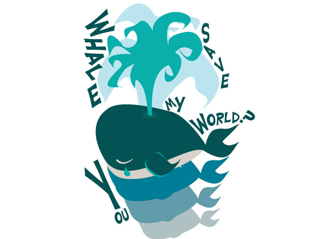 Whale you save my world?