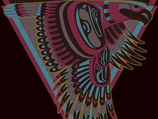 Tribal eagle T-Shirt Design by