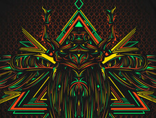 The Scarab T-Shirt Design by