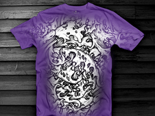Zombie Leaf T-Shirt Design by