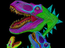 Rex Flytrap T-Shirt Design by