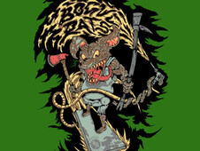 Bogue Rats T-Shirt Design by