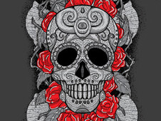 Dia de los Muertos (Day of the Dead) T-Shirt Design by