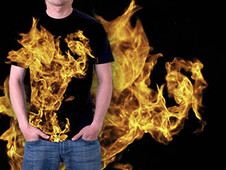 Fire Deamon T-Shirt Design by