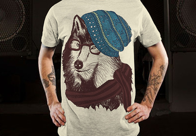 Winter City Wolf