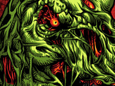 Jurrasic Zombie 2 T-Shirt Design by