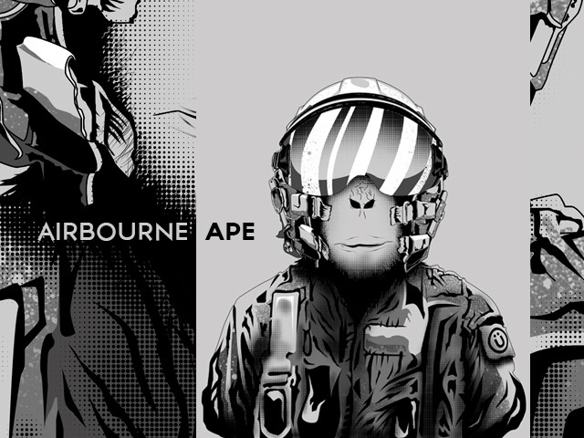 Airbourne Ape
