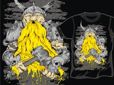 Viking! T-Shirt Design by