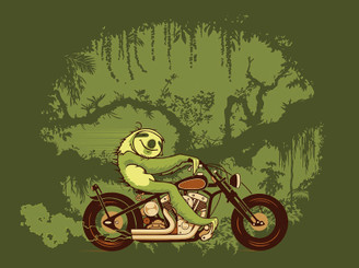 When the Sloth needs speed by ckid