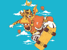 jump! T-Shirt Design by
