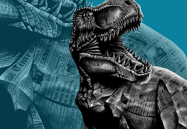 jurassic newspapers