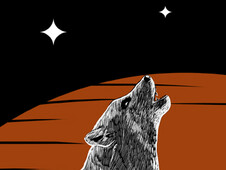 The Night Howling T-Shirt Design by