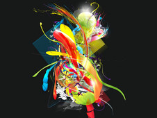 Coloures T-Shirt Design by