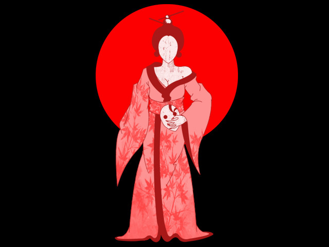 faceless geisha