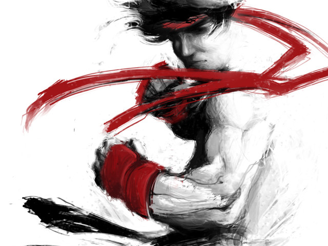Childhood hero: Ryu