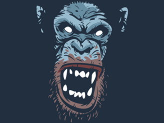 Rage Infected Chimp by ZombieDollars