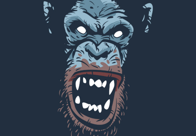 Rage Infected Chimp