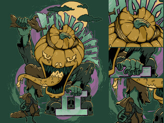 Pumpkinhead by kevvbo