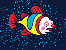 Clown Fish T-Shirt Design by