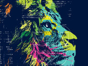 Lion Think by deyaz