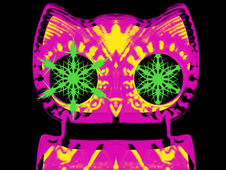 Pink Owl T-Shirt Design by
