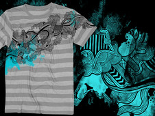 Upstream T-Shirt Design by