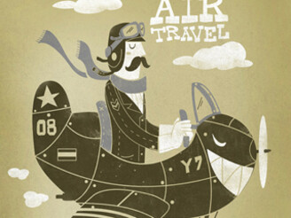 Air Travel by bykai