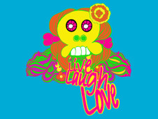 live laugh love neon T-Shirt Design by