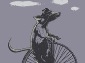 Cycling Rat by daletheskater