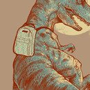 I Was A Teenage T.Rex by iamrobman
