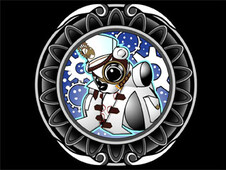 Steampunk Polar T-Shirt Design by