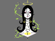 Black Eye Beauty T-Shirt Design by