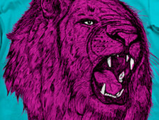 LION KING,NO! LION PINK! T-Shirt Design by